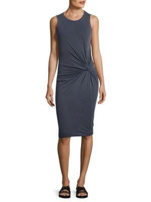 Slub Twist Dress