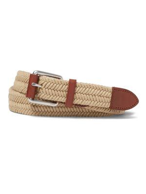 Braided Waxed Cotton Belt