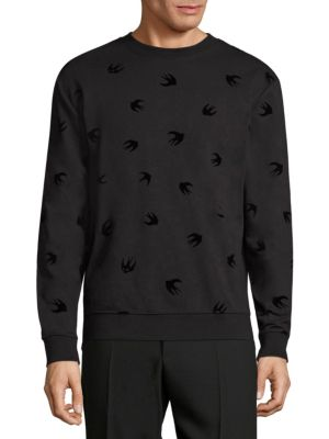 Bird-Print Sweatshirt