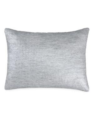 Fonta Metallic Down Throw Pillow