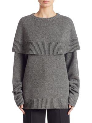 Cashmere Cape Sweater