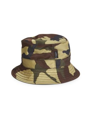 GIVENCHY Camouflage Bucket Hat, Multicolor