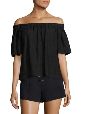 Cheyenne Off-The-Shoulder Top