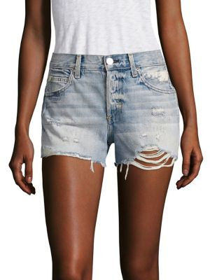 Tomboy Distressed Cut Off Shorts by AMO