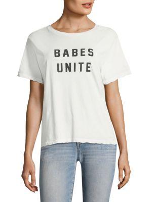 Babes Unite Cotton Tee by AMO