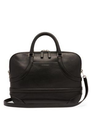 Harness Leather Briefcase Bag