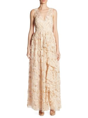 Buy Badgley Mischka Cutout Floral Dress online with Australia wide shipping