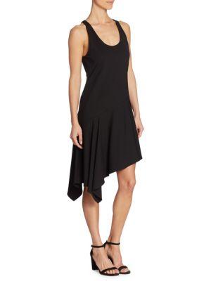 Sleeveless Ribbed Jersey Dress
