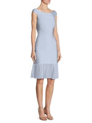Pleated Hem Dress