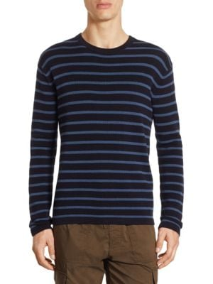 Reverse Tuck Striped tee