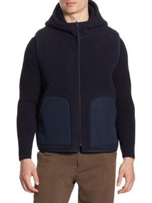 Reversible Sherpa Fatigue Coat