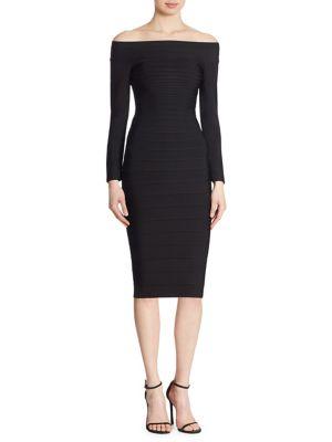 Nicola Off-The-Shoulder Dress