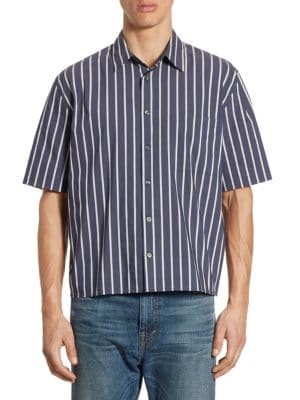 Regular-Fit Narrow Striped Shirt