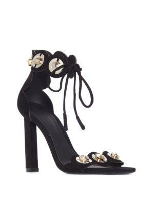 Lyris Suede High-Heel Sandals