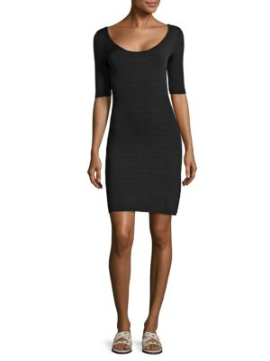 Lydia Textured Scoopback Dress