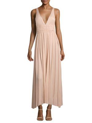 Ellison Pleated Maxi Dress