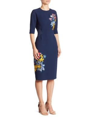 Gambit Embroidered Dress