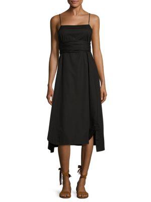 Oak Tie Poplin Dress