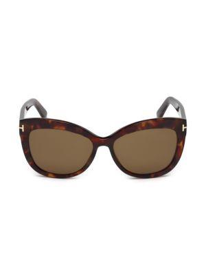 Alistair 56MM Cat Eye Sunglasses