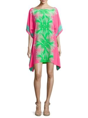 Julie Silk Caftan Dress