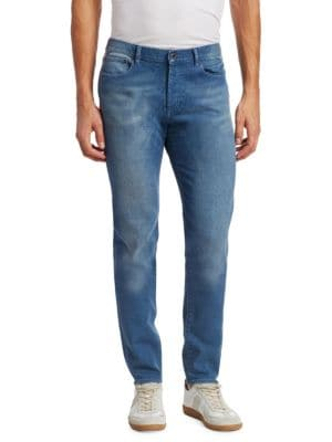 Rico Slim-Fit Faded Jeans