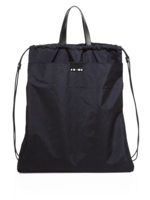 DAN WARD Two-in-One Drawstring Tote Backpack