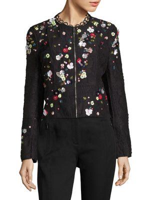 Marta Embellished Bomber Jacket