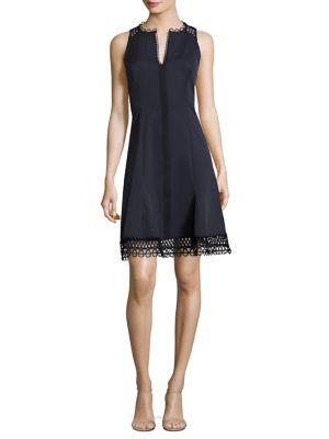 Loz Crochet-Trimmed Dress