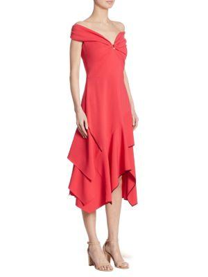 Cady Off-The-Shoulder Dress