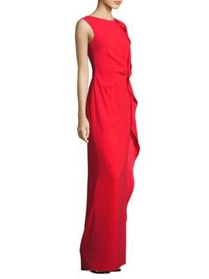 Guann Ruffle Gown