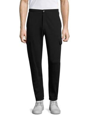 Terry Cotton Cargo Sweatpants