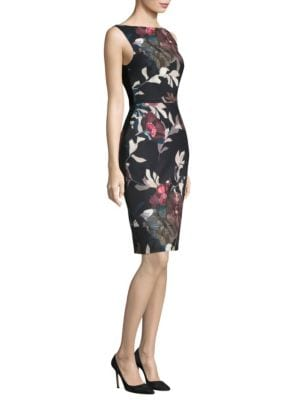Beverly Faye Smooth Woven Knee-Length Dress