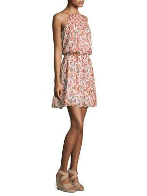 Reinelde Floral Blouson Dress
