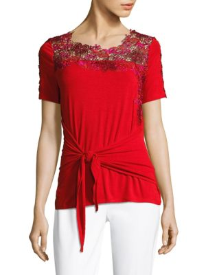 Dolores Knit Top by Elie Tahari