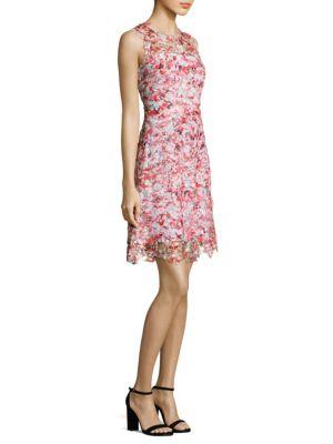 Kaisa Floral Lace Dress