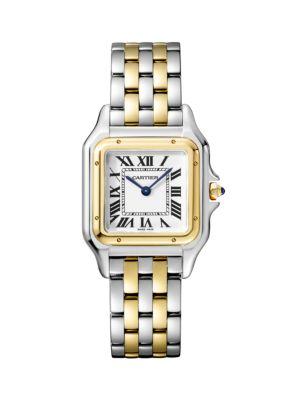 Panthère de Cartier Two-Tone Bracelet Watch