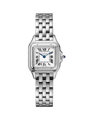 Panthère de Cartier Small Stainless Steel Bracelet Watch