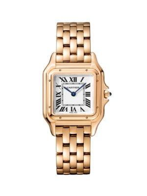 Panthère de Cartier 18K Rose Gold Bracelet Watch
