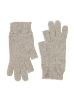 Ribbed Short Gloves