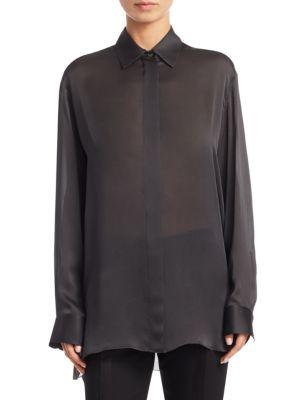 Big Sisea Silk Shirt by The Row