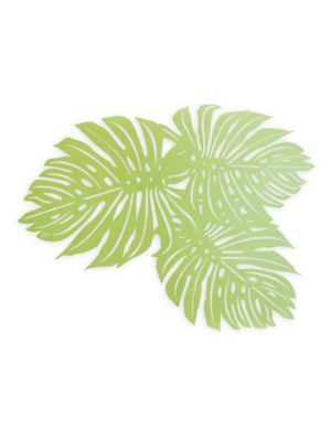 Set of Eight Palm Placemat