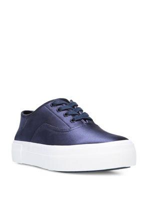 Copley Satin Platform Sneakers