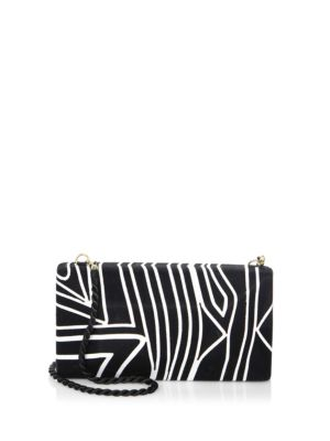 BEATRIZ Colorblock Large Convertible Clutch