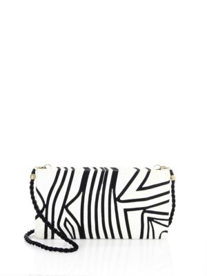 BEATRIZ Tropical Edge Large Convertible Clutch