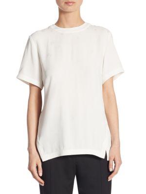 Solid Short Sleeve Top by Proenza Schouler