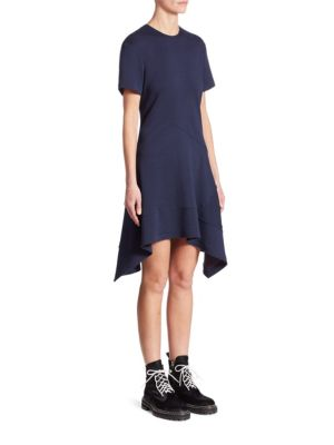 Wool Asymmetric Dress