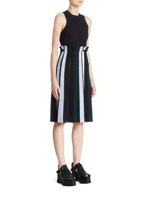 Knit Striped Dress