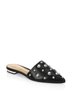 Zobra Leather Slip-On Sandals
