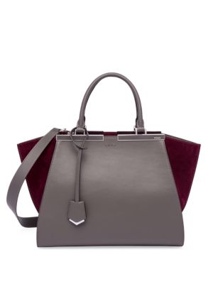 3 Jours Leather & Suede Shopper