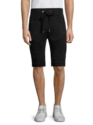 Moto Sweat Shorts